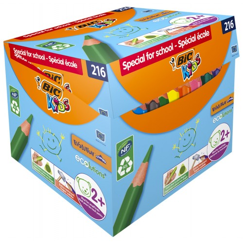 Bic Evolution Triangle Colouring Pencils - Pack of 216