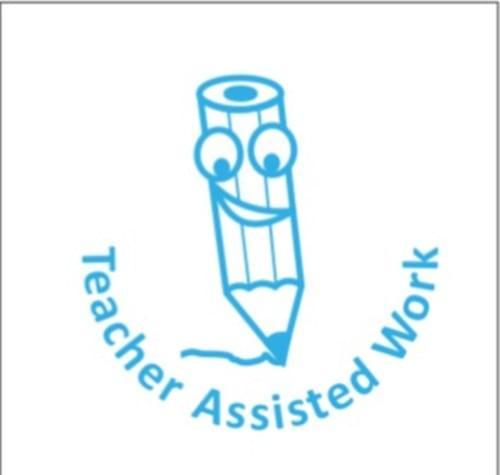 Classmates Motviational Stamp Teacher Assisted Work Smiley Pencil