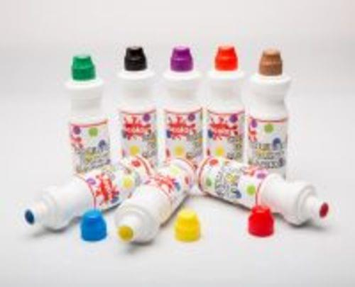 Chubby Paint Markers 75ml Assorted Pack 8s