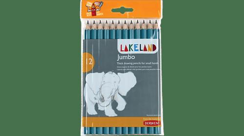 Lakeland Jumbo Graphite Pencils Pack 12s