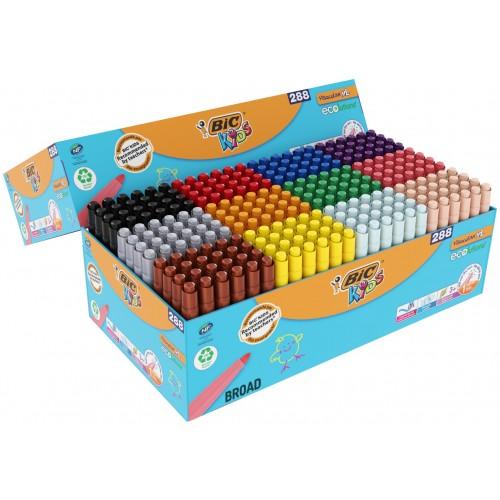 Bic Kids Visacolor XL Felt Pen Sets - PACK 288