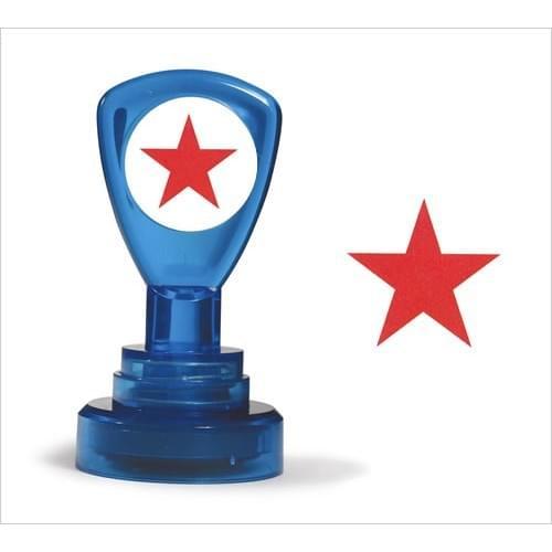 Classmates Motviational Stamp Red Star