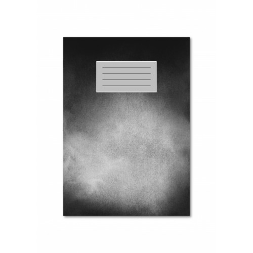 Artbook A4 40 Pages 120gsm Paper  Cloudy Black Cover Gloss Varnish