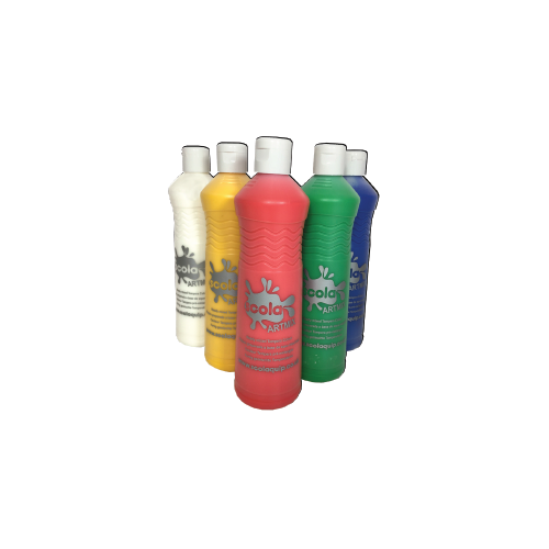 Readymix Paint 600ml Assorted Pack 6s