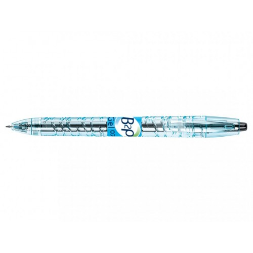 B2P Gel - Gel Ink Rollerball - Black - Begreen - Medium Tip