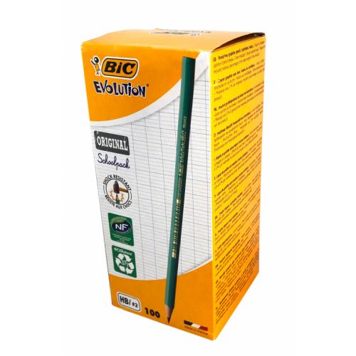 Bic Evolution Blacklead HB Pencils