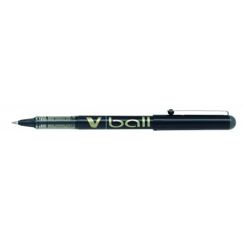 Pilot V-Ball VB7 Rollerball Pen Medium 0.7mm Tip 0.4mm Line Black