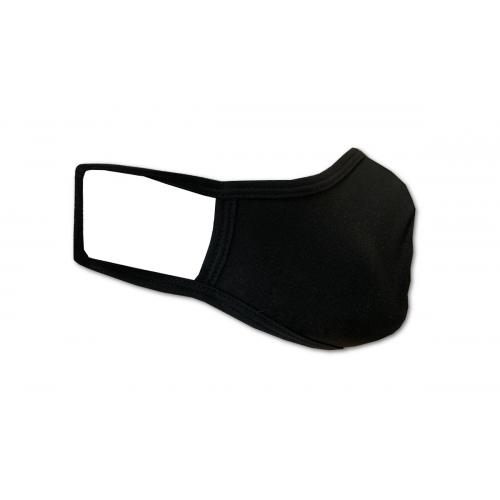 Washable Cotton Face Masks - BLACK