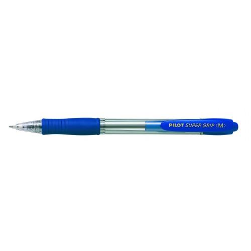 Pilot Super Grip Retractable Ballpoint Pen Blue - BPGP10RM 03