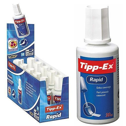 Tippex Correction Fluid 20ml. White