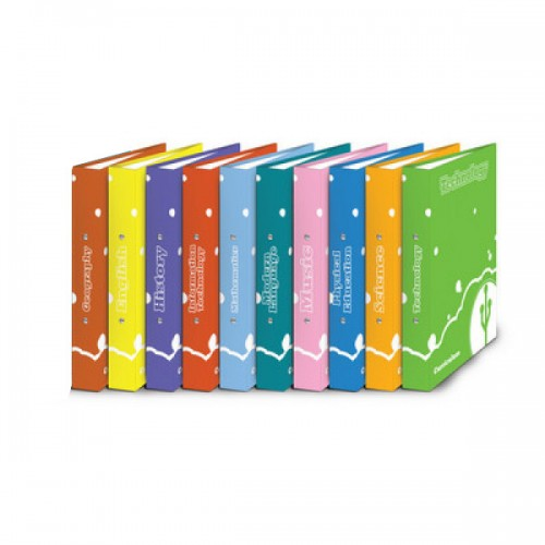 Curriculum Ring Binders A4 History