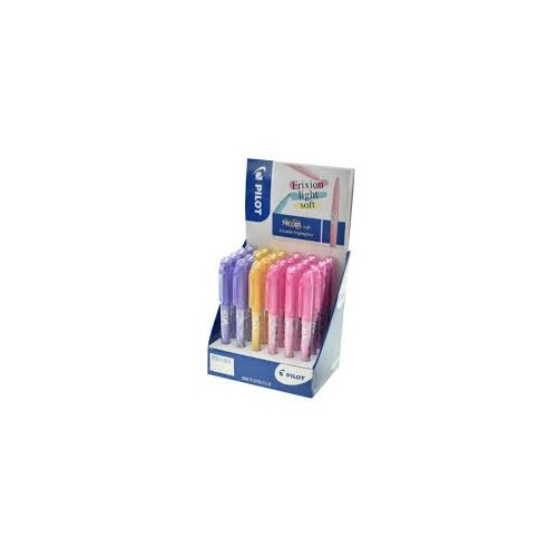 Pilot Frixion Light Highlighter Display Pastel  Assorted 5012052048812