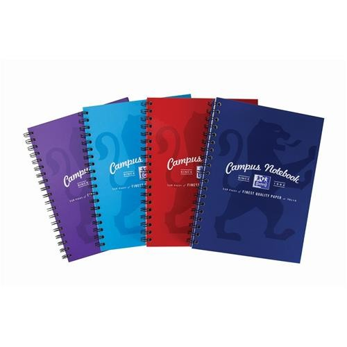 Campus Twinwire Notebooks B5 Assorted Colours
