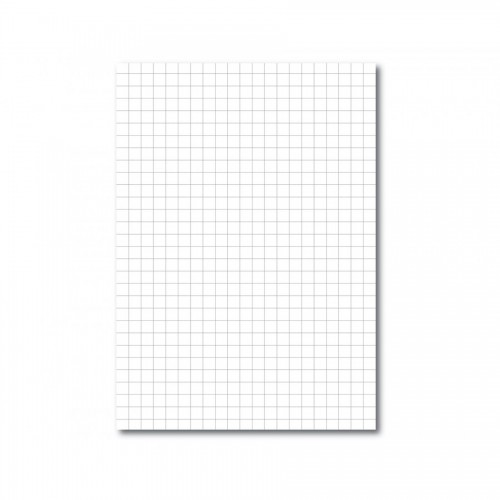 Exercise Paper 9 x 7 10mm Squares Unpunched pack 500s