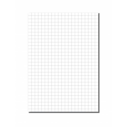 Exercise Paper A4 10mm Squares Unpunched Pack 500s