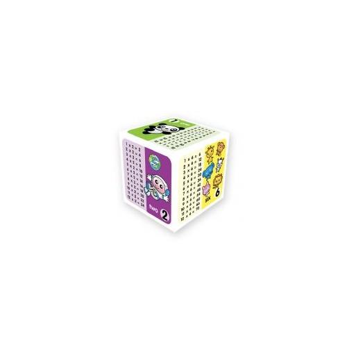 Purple Peach Education Times Table Cube