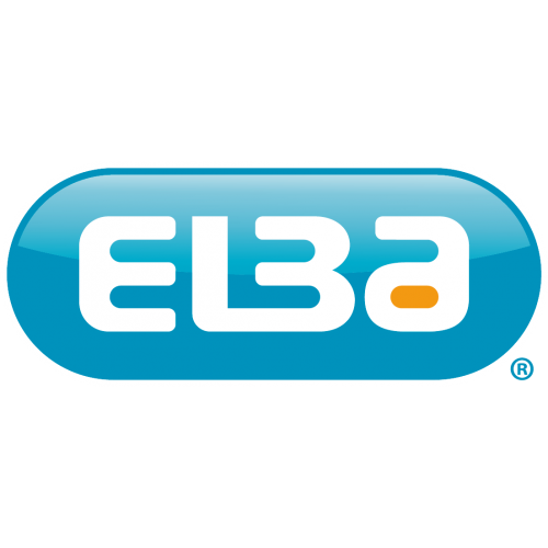 Elba Laminated Lever Arch, 70mm Spine, Black
