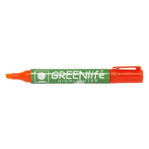 Greenlife Highlighters Chisel Tip Orange