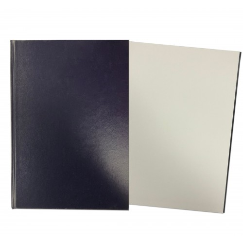 Hardback Sketch Book A4 Portrait Dark Blue SBCA4PPBL