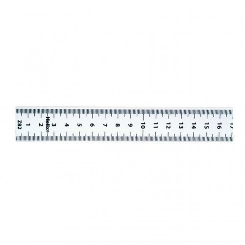 Helix White Metre Ruler Imperial