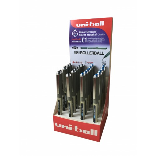 Uni-ball Eye UB157 Rollerball Assorted Display Of 24