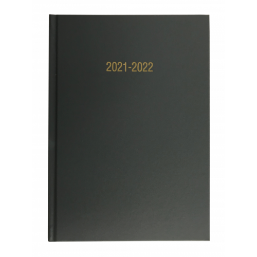 Academic Year Diary A5 Week To View Light Grey 2021/22
