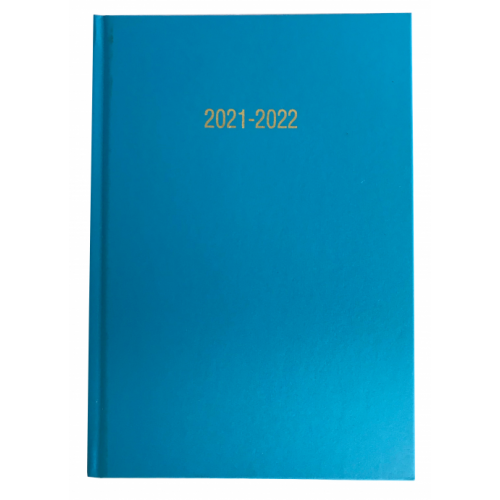 Academic Year Diary A5 Week To View Turquoise 2021/22