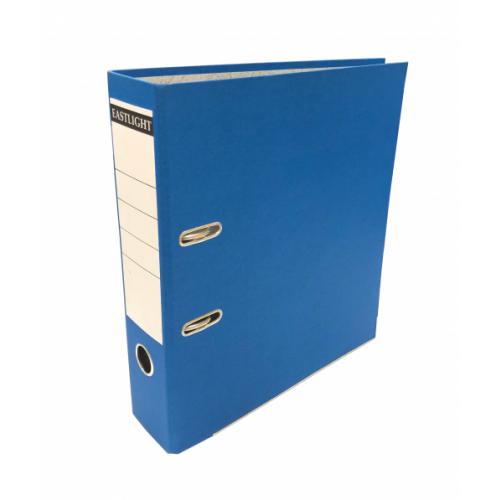 Linen Lever Arch Files A4 Blue