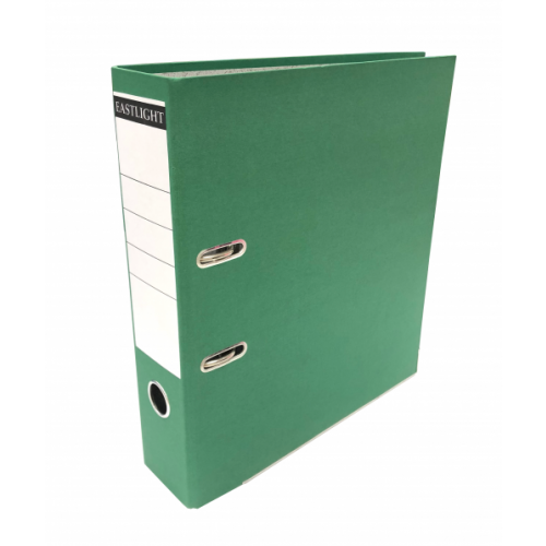 Linen Lever Arch Files A4 Green