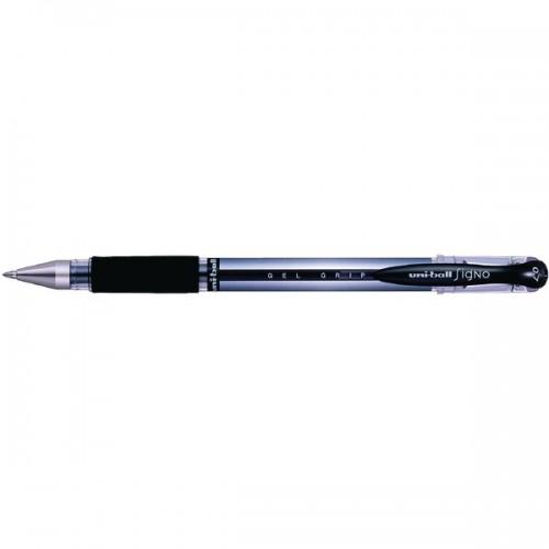 Uniball Signo Gel UM-151 Grip Rollerball Pens Black