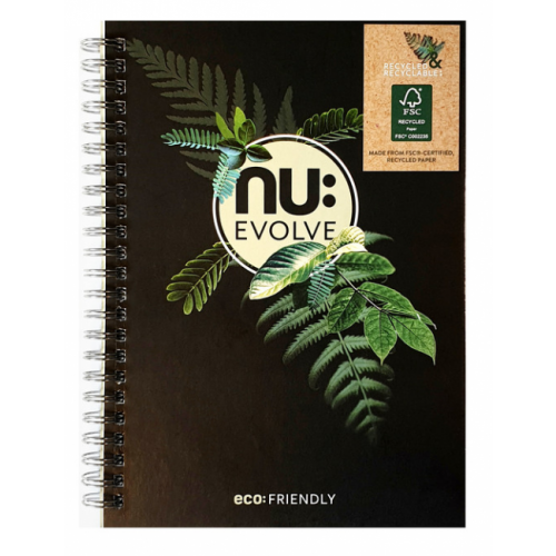 NU: EVOLVE A5 WIRO NOTEBOOK 120 Pages