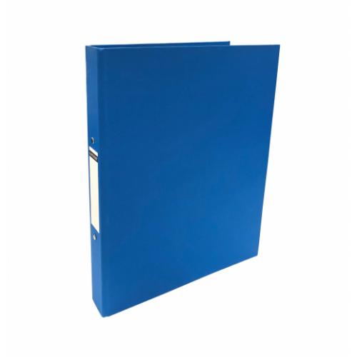 Linen Ring Binders A4 Blue