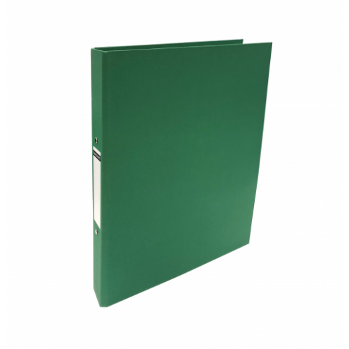 Linen Ring Binders A4 Green