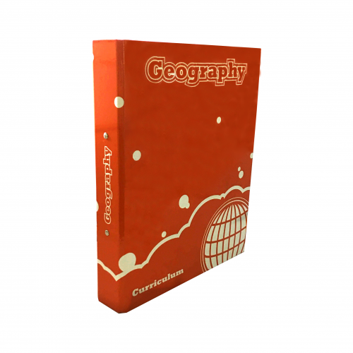 Curriculum Ring Binders A4 Geography