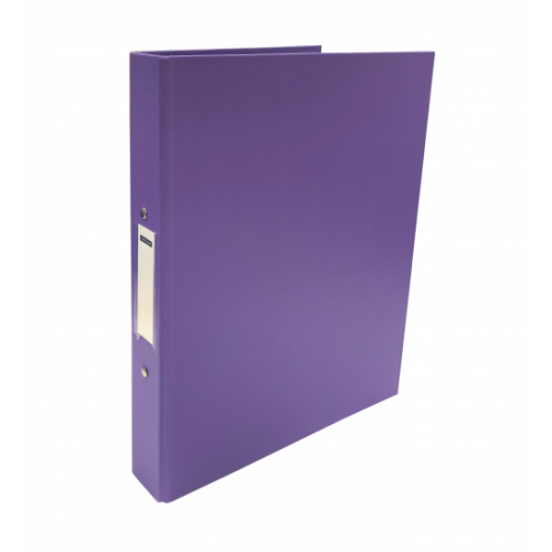 Pvc Ring Binders A4 2 Ring Purple