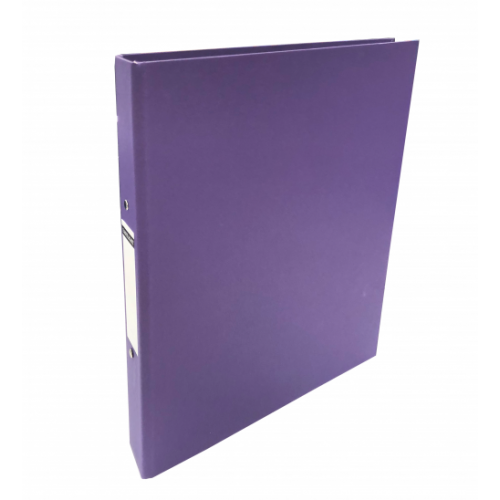 Linen Ring Binders A4 Purple