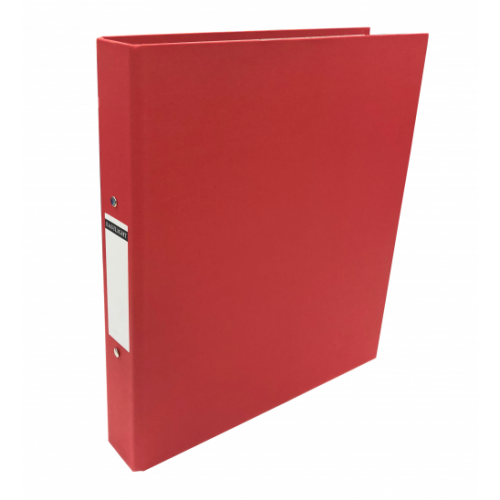 Linen Ring Binders A4 Red