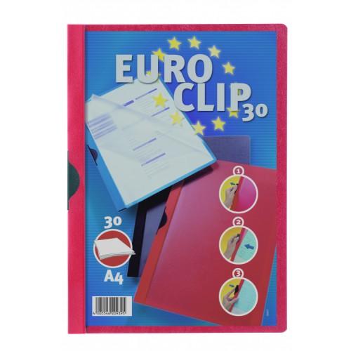 Durable Euro Clip  Folders A4 RedPack 25 200603