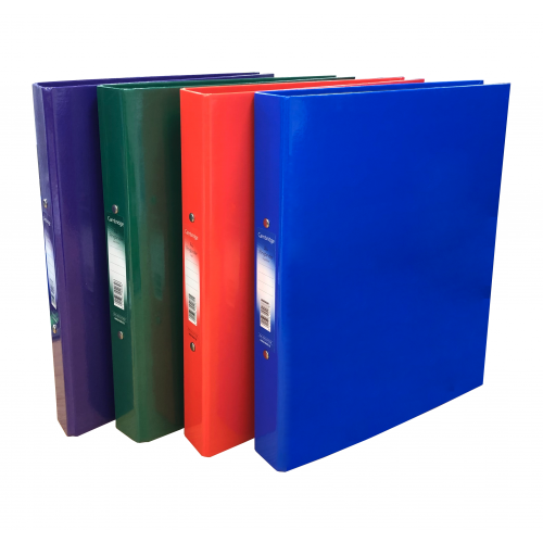Value Laminated Ring Binders A4 Assorted