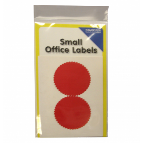 Small Packs Office Labels Legal Seals Pack 8s