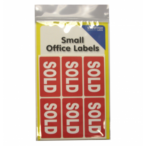 Small Packs Office Labels Sold Label Pack 24s