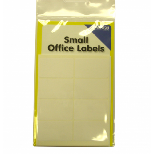 Small Packs Office Labels White 25mm x 40mm Pack 80s