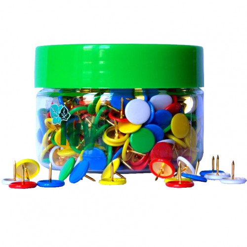 Drawing Pins Assorted Tub 350s