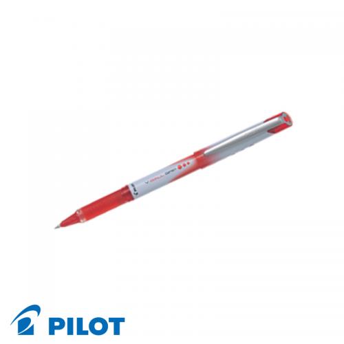 Pilot V Ball Grip Pens 0.7mm Red