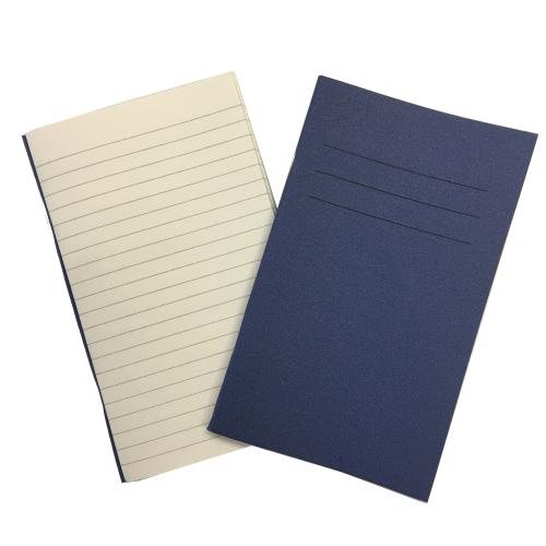 Vocab Books 6.25'' x 4'' 80 Pages 7mm Feint Ruled Blue