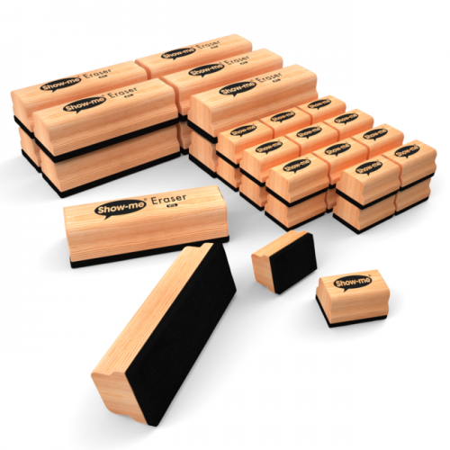 Show Me Wooden Handle Erasers