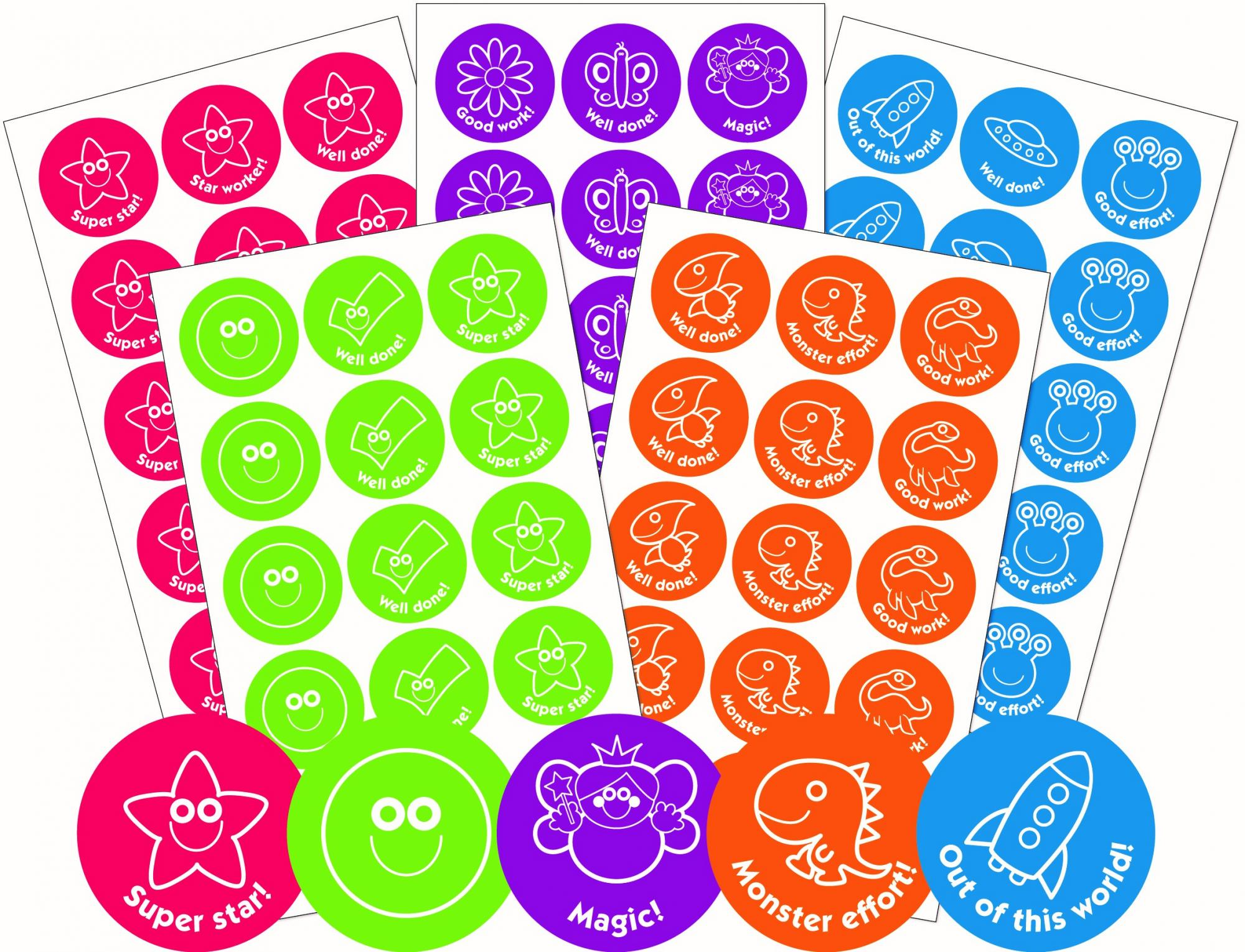 Motivational Stamps & Stickers