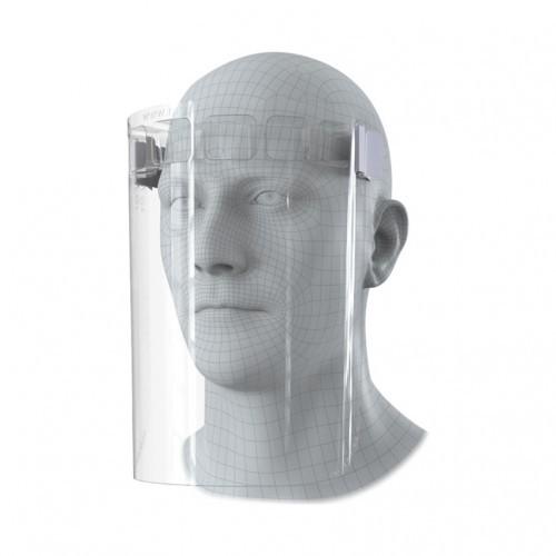 Clear Full Face Visor Pack of 10