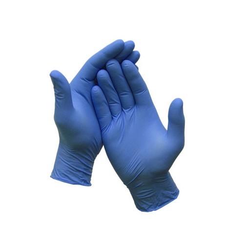 Blue Nitrile Gloves Large