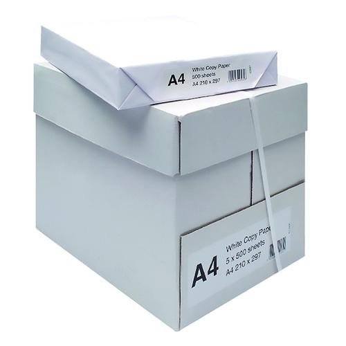White A4 Copier Paper (Pack of 2500) WX01087